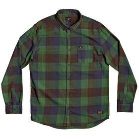 Quiksilver Motherfly Longsleeve Shirt Heren, greener pasture motherfly